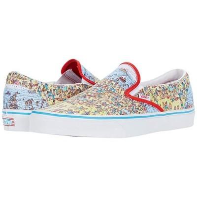 バンズ Vans x Where's Waldo  Sneaker Collection メンズ スニーカー 靴 シューズ (Where's Waldo Classic Slip-On) Find Steve/Beach