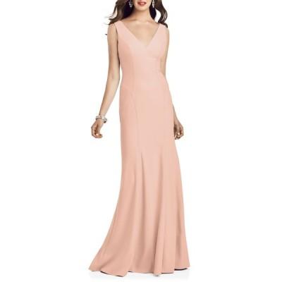 ドレッシーコレクション ワンピース トップス レディース Crepe Trumpet Gown Porcelain Pink
