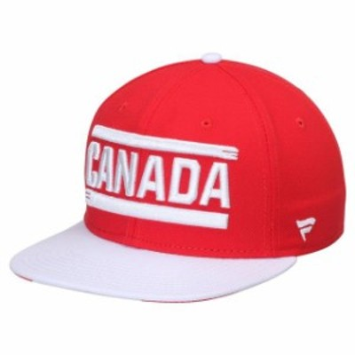 Fanatics Branded ファナティクス ブランド 帽子 キャップ Canada Red/White Patriot Snapback Adjustable Hat