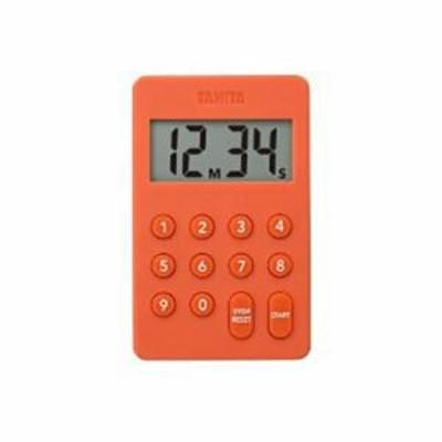 納期約1~2週間 TANITA タニタ TD-415-OR デジタルタイマー TD415OR