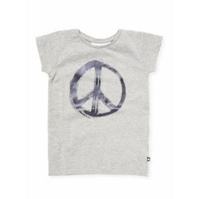 モロ キッズ ガールズ トップス Little Girls Peace Graphic T-Shirt