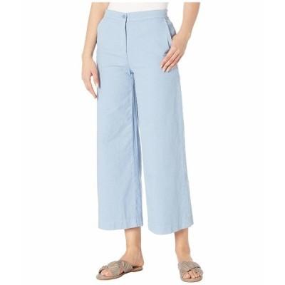 エイリーンフィッシャー カジュアルパンツ ボトムス レディース Organic Cotton Hemp Stretch Wide Leg Ankle Pants Haze