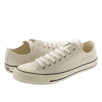 CONVERSE ALL STAR US SWT OX コンバース オールスター US スウェット OX OFF WHITE 31303740 1SC487