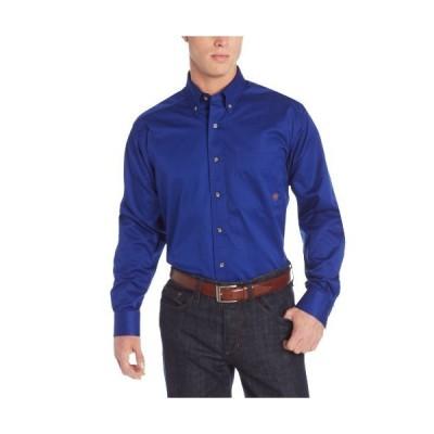 ARIAT メンズ 無地 ツイルシャツ US サイズ: Small カラー: ブルー