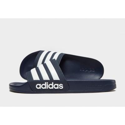 アディダス adidas レディース サンダル・ミュール シューズ・靴 cloudfoam adilette slides blue