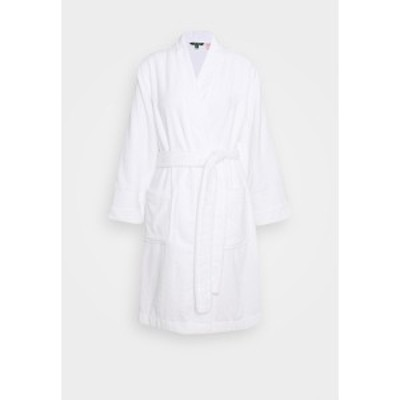 ラルフローレン レディース ワンピース トップス CORE GREENWICH ROBES - Dressing gown - white white