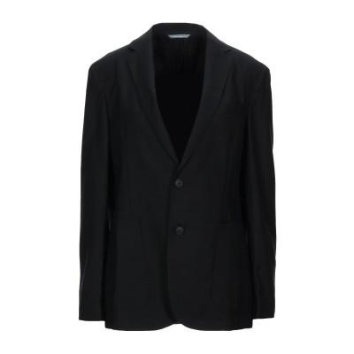 BOSS HUGO BOSS テーラードジャケット ブラック 46 バージンウール 100% / ポリエステル テーラードジャケット