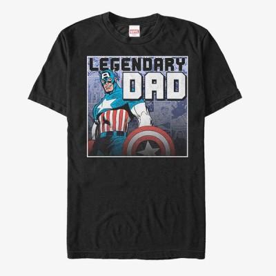 キャプテンアメリカ Tシャツ マーベル Marvel レディース メンズ兼用 半袖