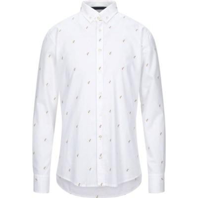 ヒューゴ ボス BOSS HUGO BOSS メンズ シャツ トップス Solid Color Shirt White