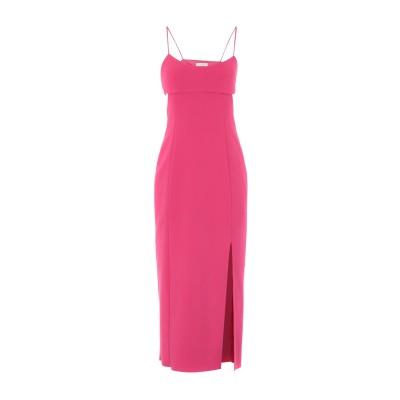 BEC & BRIDGE 7分丈ワンピース・ドレス フューシャ 6 ポリエステル 95% / ポリウレタン 5% 7分丈ワンピース・ドレス