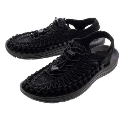 サンダル レディース 履きやすい アウトドア キーン ウーマン ユニーク KEEN WOMEN UNEEK BLACK/BLACK ブラック 黒 1014099