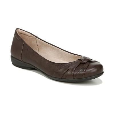 ソウルニュトライザー サンダル シューズ レディース Gift Ballerina Flats Dark Brown