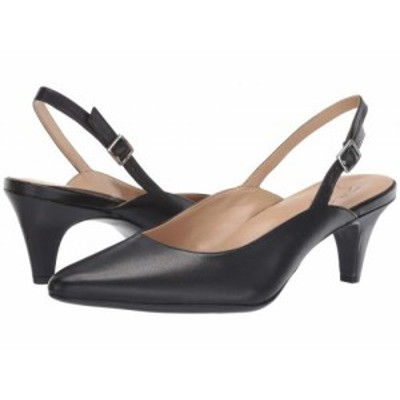 Naturalizer ナチュラライザー レディース 女性用 シューズ 靴 ヒール Baylee Black Leather【送料無料】