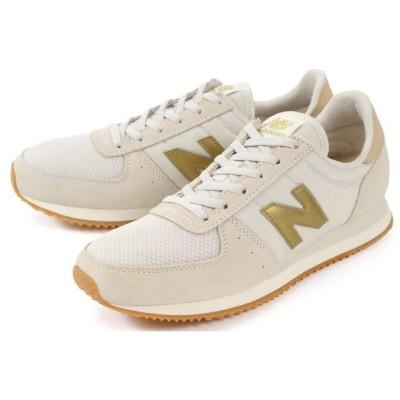 Newbalance(ニューバランス) WL220 AB2 オフホワイト/ゴールド