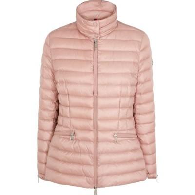 モンクレール Moncler レディース ジャケット シェルジャケット アウター safre pink quilted shell jacket Pink