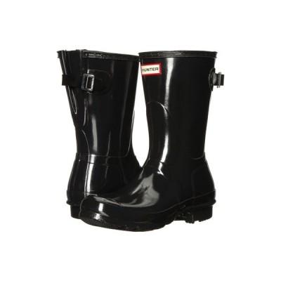 ハンター レディース ブーツ・レインブーツ シューズ Original Back Adjustable Short Gloss Rain Boots
