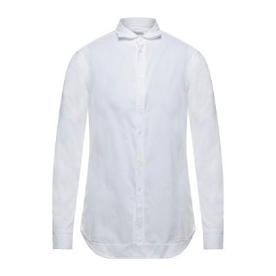 パオロ ペコラ PAOLO PECORA シャツ ホワイト 40 コットン 100% シャツ