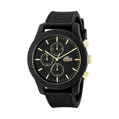 Lacoste Men's 2010826 12.12 Analog Display Quartz Black Watch(輸入品)