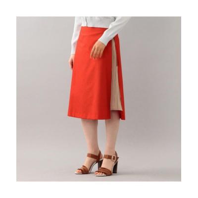 (LOVELESS WOMEN/ラブレス)【LOVELESS】WOMENS スリットレイヤードスカート/レディース オレンジ