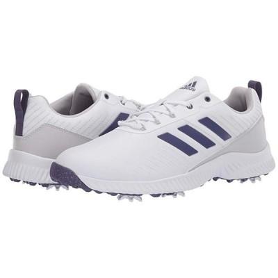 アディダス Response Bounce 2 レディース スニーカー Footwear White/Grey Two/Purple Tint