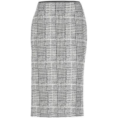 24.25 7分丈スカート アイボリー 44 コットン 96% / ポリウレタン 4% 7分丈スカート