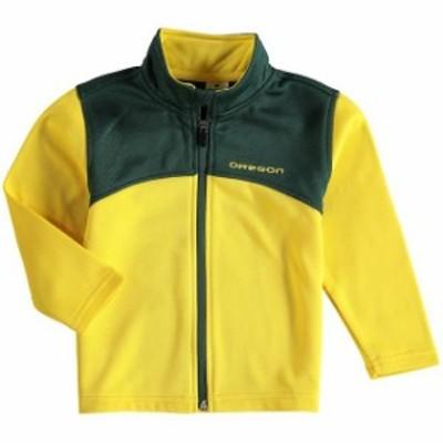 Colosseum コロセウム スポーツ用品  Colosseum Oregon Ducks Toddler Green/Yellow Sleet Full-Zip Fleece Jacket
