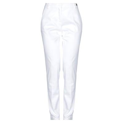 TER DE CARACTÈRE パンツ ホワイト 40 コットン 97% / ポリウレタン 3% パンツ