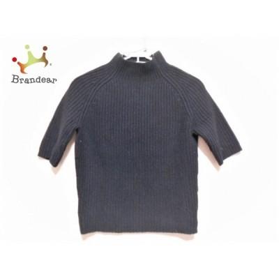 セオリー theory 半袖セーター サイズS レディース 黒 ハイネック   スペシャル特価 20191218
