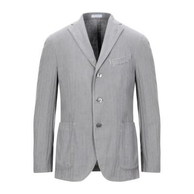 ボリオリ BOGLIOLI テーラードジャケット ドーブグレー 46 コットン 48% / リネン 26% / ポリエステル 26% テーラードジャ