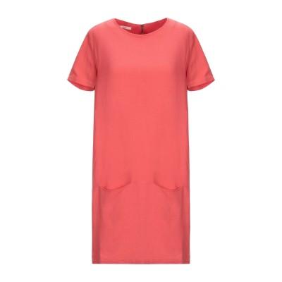 セッスン SESSUN ミニワンピース&ドレス レッド XS レーヨン 79% / 麻 21% ミニワンピース&ドレス