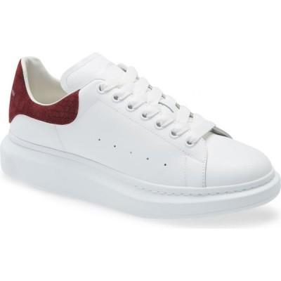 アレキサンダー マックイーン ALEXANDER MCQUEEN メンズ スニーカー シューズ・靴 Oversize Sneaker White/Burgundy