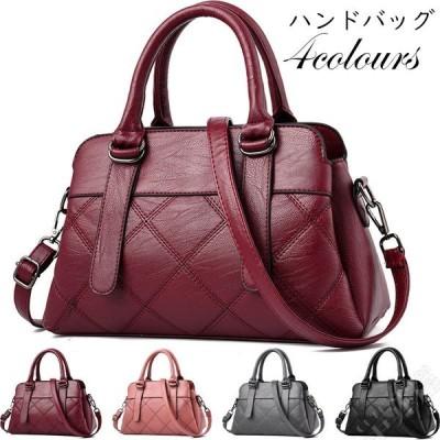 ショルダーバッグ レディース ハンドバッグ 手提げバッグ 2way 斜め掛け 黒 カバン 鞄 上品質  OL 通勤 シンプル 20代30代40代50代