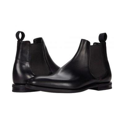Church's チャーチ メンズ 男性用 シューズ 靴 ブーツ チェルシーブーツ Prenton Boot - Black Natural Calf