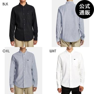SALE 2020 RVCA ルーカ メンズ THATLL DO STRETCH LS ロングスリーブシャツ 2020年秋冬モデル 全3色 S/M/L rvca