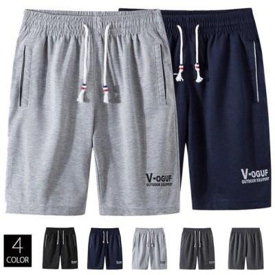 ショートパンツ メンズ 夏ズボン スポーツパンツ 涼しいズボン スウェット ボトムス 吸汗 夏 トレーニング
