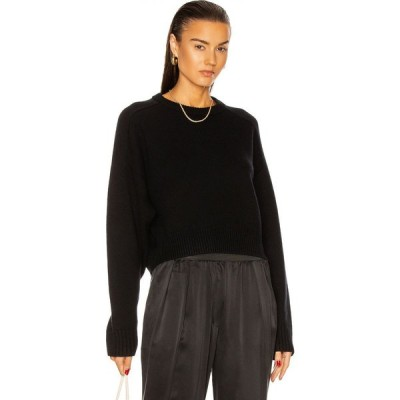 LOULOU スタジオ Loulou Studio レディース ニット・セーター トップス Bruzzi Sweater Black