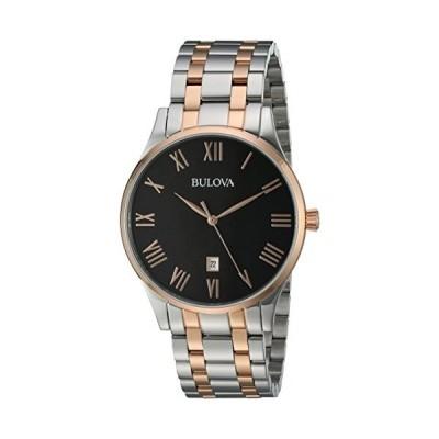腕時計 ブローバ メンズ 98B279 Bulova Men's Quartz Stainless Steel Dress Watch, Color:Two Tone (Model