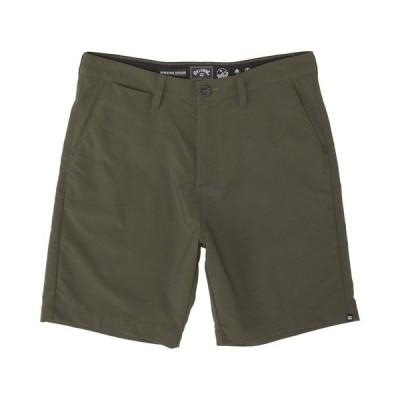 ビラボン Billabong メンズ ショートパンツ ボトムス・パンツ Surftrek Wick Shorts DARK MILITARY