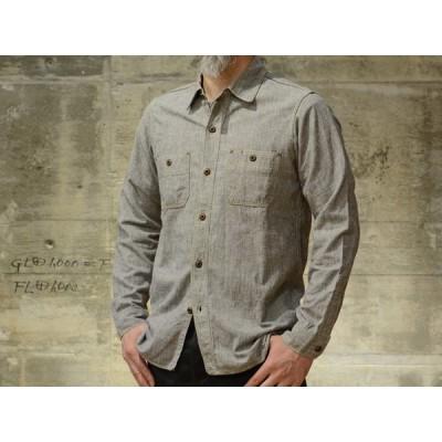 FREEWHEELERS(フリーホイーラーズ) L/S ワークシャツ Neal ホワイトペッパー