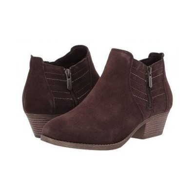 SKECHERS スケッチャーズ レディース 女性用 シューズ 靴 ブーツ アンクルブーツ ショート Lasso - Chocolate