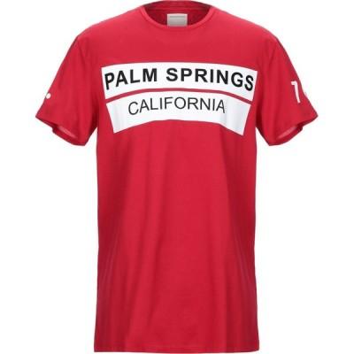 プレミアム ムード デニム スーペリア PMDS PREMIUM MOOD DENIM SUPERIOR メンズ Tシャツ トップス t-shirt Red