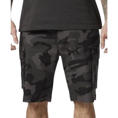"""フォックス メンズ カジュアルパンツ ボトムス Men's Slambozo Camo Cargo 2.0 22"""" Shorts Black Camo"""