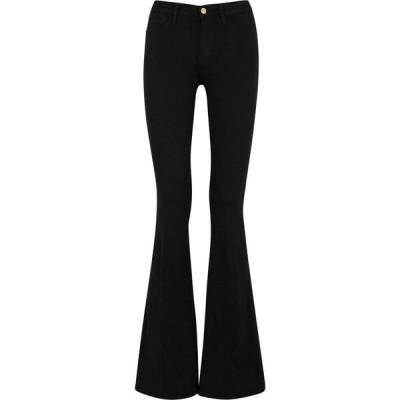 フレーム Frame レディース ジーンズ・デニム ボトムス・パンツ Le High Flare Black Flared Jeans Black