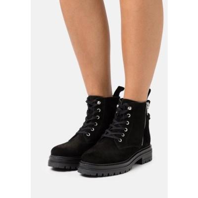 レディース 靴 シューズ MELINA - Lace-up ankle boots - black