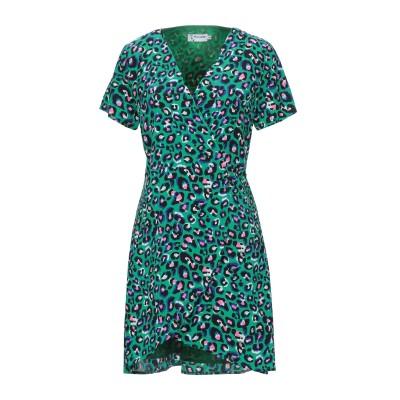 MINUETO ミニワンピース&ドレス グリーン M ポリエステル 100% ミニワンピース&ドレス