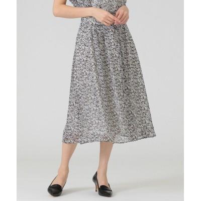 スカート ガーデンローズドビーシフォンスカート