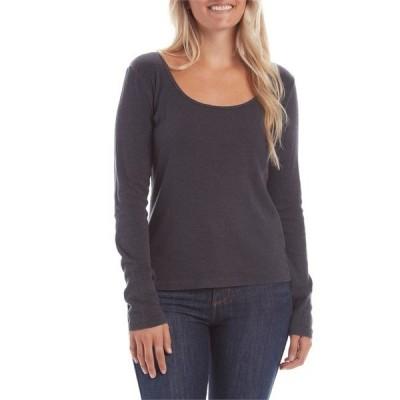 モラスク レディース Tシャツ トップス Mollusk Long-Sleeve Rib T-Shirt - Women's