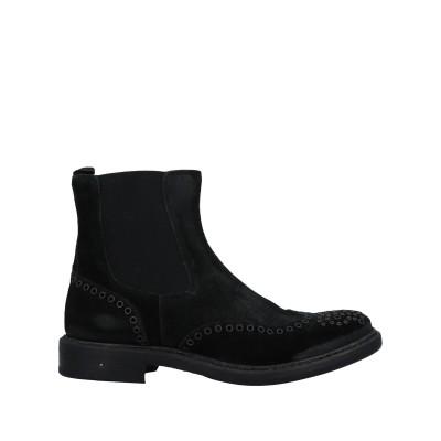 HUNDRED 100 ショートブーツ ブラック 36 革 ショートブーツ