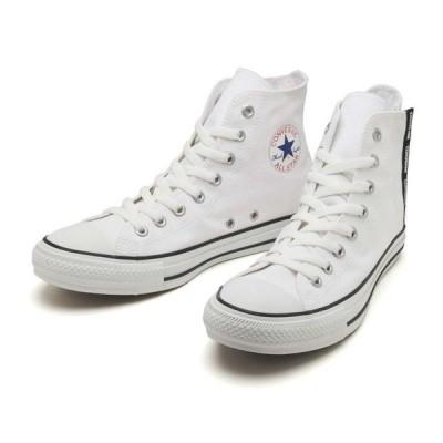コンバース CONVERSE ALL STAR LOGOFLAPZIP HI オールスター ロゴフラップジップ ハイ 31302612 WHITE