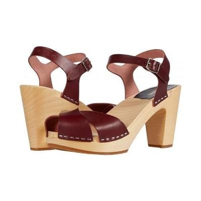 Swedish Hasbeens スウェディッシュハズビーンズ レディース 女性用 シューズ 靴 ヒール Merci Sandal - Bordeaux
